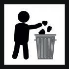 <strong> Будь ласка, залиште дитячий майданчик чистим.</strong><br>Тут у вас є гарне місце для гри. Власник ігрового майданчика піклується про його безпечне користування. Будь ласка, допоможіть зберегти порядок і чистоту, викидаючи сміття в відповідний кошик для сміття/ контейнери. Ми всі знайомі з феноменом: якщо щось лежить навколо, до нього все більше і більше додається. Будь ласка, підтримайте нас у прагненні не допустити безлад. Ми всі хочемо, щоб наші діти грали на красивих і чистих ігрових майданчиках, якими ми можемо користуватися безпечно. Спільно ми досягнемо поставленої мети.