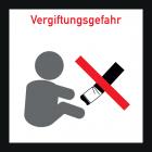 <strong> Не залишайте сигаретні недопалки/ фільтри в ігровій зоні (ризик отруєння маленькими дітьми).</strong><br>Недопалки від сигарет в пісочницях і біля них становлять великий ризик для малюків. Фільтр однієї сигарети може містити смертельну дозу нікотину для маленької дитини. Якщо малюк проковтне сигаретний фільтр, існує небезпека гострого отруєння. З цієї причини курці не повинні затушівать сигарети або залишати недопалки в або біля пісочниці. Будь ласка, зверніть особливу увагу на місця ігор з піском, щоб вони були вільні від недопалків та іншого сміття, а також відмовтеся від куріння на дитячому майданчику в інтересах дітей.