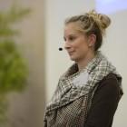 1. Fachtagung 2015 zur Kindersicherheit auf Spielplätzen - Massstab Mensch - Referentin Sonja Rasch, Grundschulpädagogin, Baurätin der Kommunalen Unfallversicherung Bayern