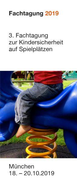Ankündigung 3. Fachtagung zur Kindersicherheit auf Spielplätzen in München, Veranstalter Massstab Mensch