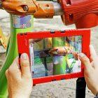 Prüfsoftware Zeitpad XT von Massstab Mensch für Spielplatzkontrolle, Baumkontrolle und Straßenkontrolle, Einsatz auf dem Spielplatz